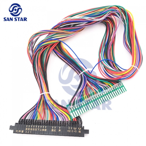 San Star Online Shop Jamma Harness Wiring Player One on